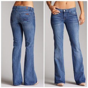 "7 for all Mankind | ""A"" Pocket Flare Jeans Sz. 26"